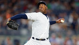 Aroldis Chapman predictably landed the richest contract ever for a relief pitcher.