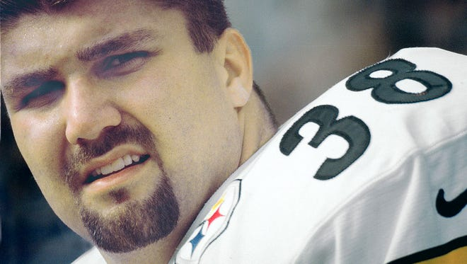 Jon Witman, 44, of Hellam Township, played for the Pittsburgh Steelers from 1996 to 2001.