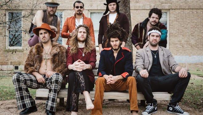 Bourgeois Mystics play at Vino Mio Social Club on Saturday.