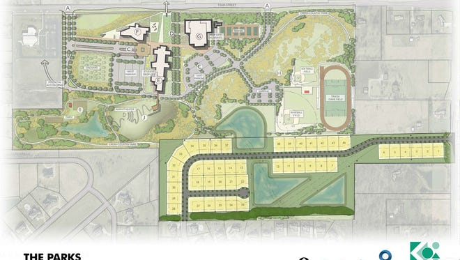 PIttman Properties plans to build 44 houses south of University High School.