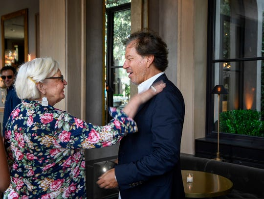 Virginia Phillips tells RH Design Gallery CEO Gary