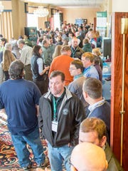 More than 300 dairy farmers and industry professionals gatherat the 18th annual Vermont Dairy Producers Conference Tuedday at the Sheraton in South Burlington to learn about strategies to ensure dairy farms continue to be a vibrant part of the local economy.