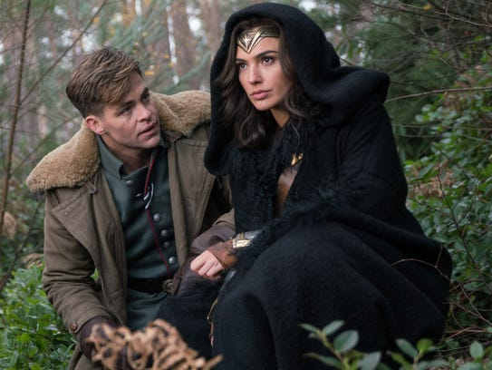 Chris Pine stars as Steve Trevor, an American pilot