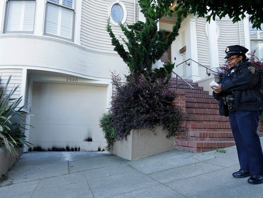 Fire at Mrs. Doubtfire home