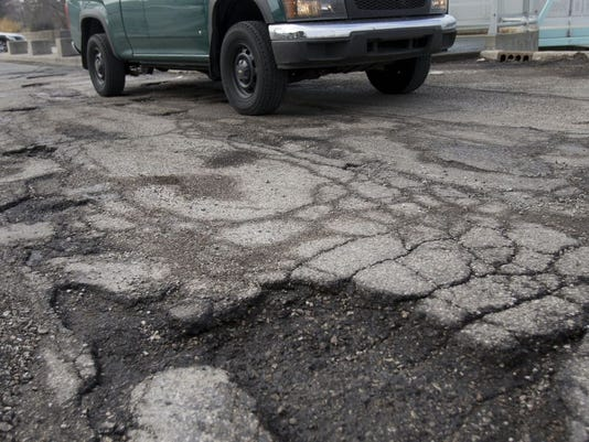 IndyStar stock pothole stock potholes stock infrastructure