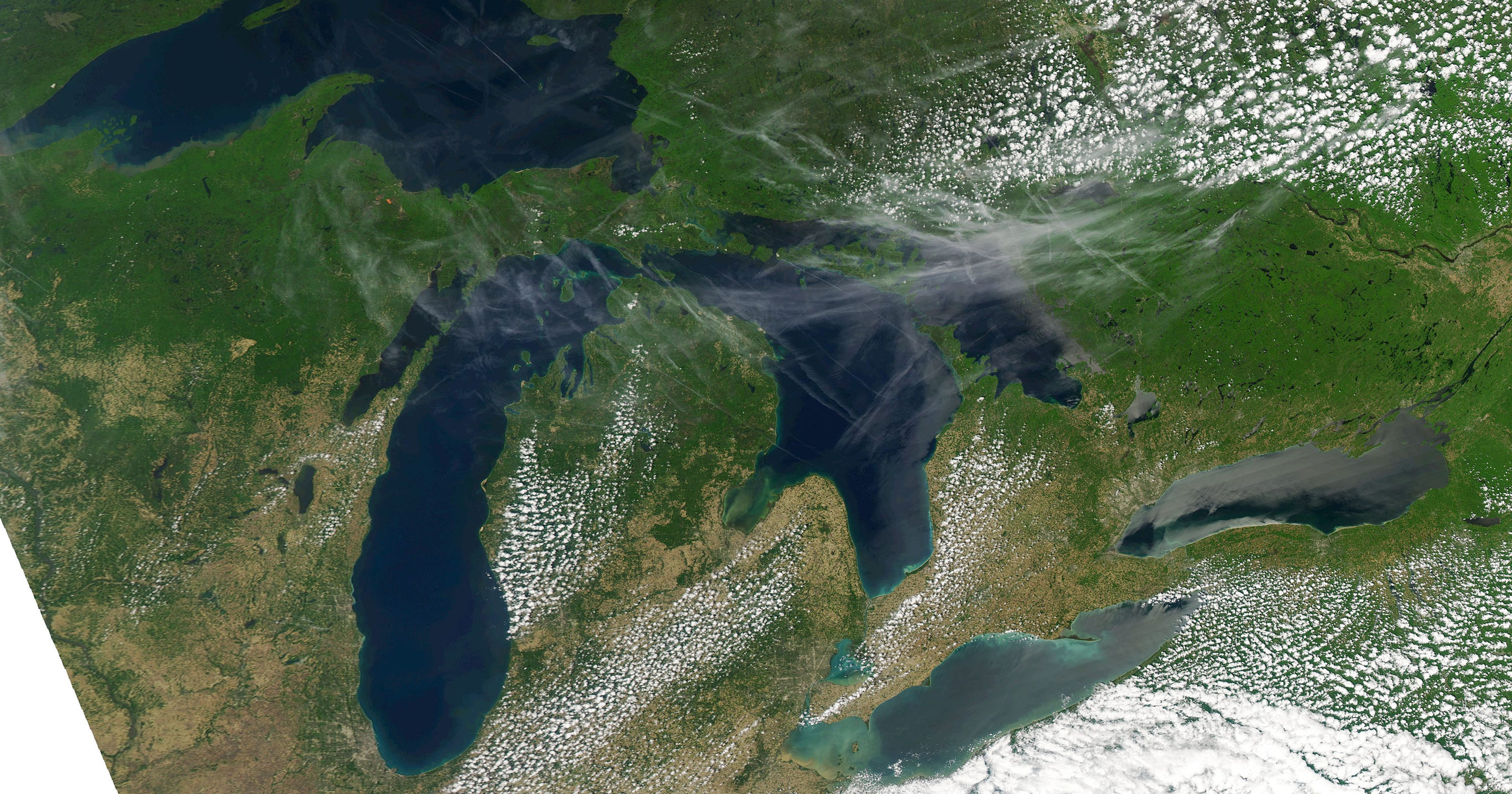 Great Lakes levels rising