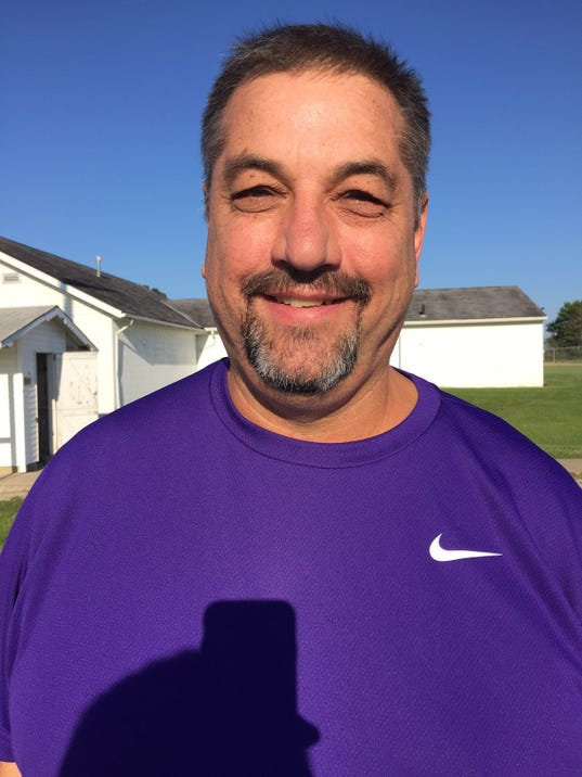 Mount Gilead Athletic Director Dave Logan