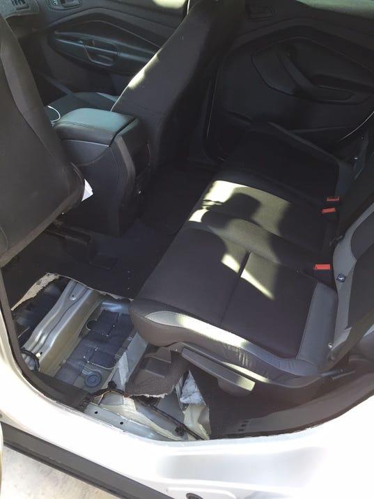 Uber passenger shoots self