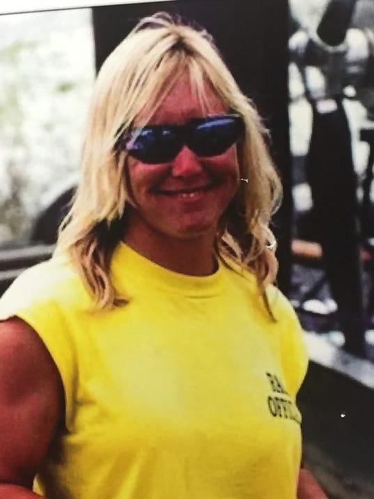 Missing firefighter Brandy Hall