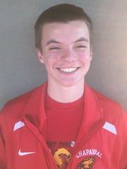 Garrett Murray, from Scottsdale Chaparral, is azcentral sports' High Achiever of the Week from Jan. 7-14.