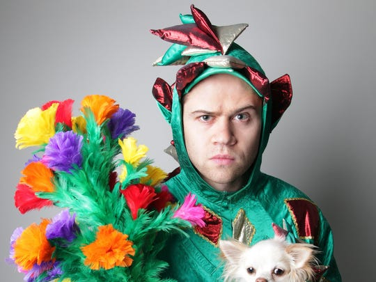 "Piff the Magic Dragon was a finalist on ""America's"