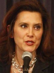 Former Senate Democratic Leader Gretchen Whitmer