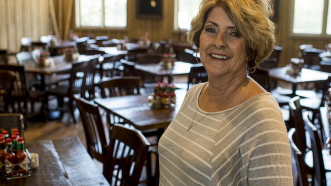 Visitor center manager Linda Clause poses for a photograph in the McIlhenny Company's new restaurant 1868 on Avery Island, Tuesday, Aug. 4, 2015.