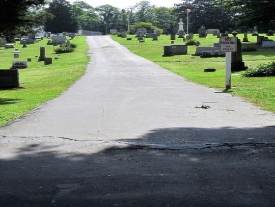 Oak Hill Cemetery at 205 Whitney, Johnson City, Tenn.