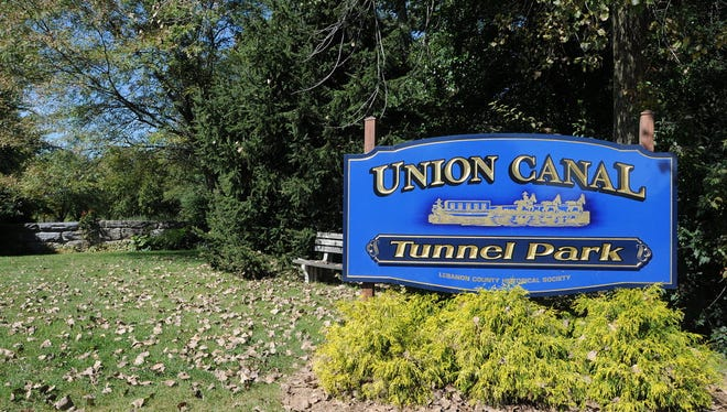 Union Canal Tunnel Park in North Lebanon Township.
