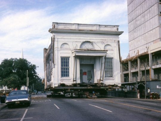 Irreplaceable Heritage celebrates the National Historic Preservation Act and chronicles efforts to save historical sites and buildings throughout Florida, such as the relocation of the Union Bank Building to its current home on Apalachee Parkway.