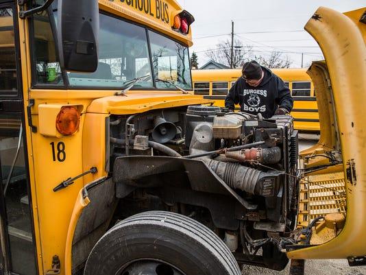 Muncie school bus