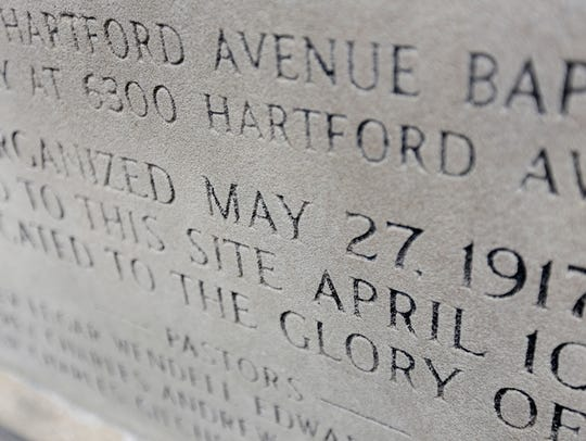 Hartford Memorial Church in Detroit is celebrating
