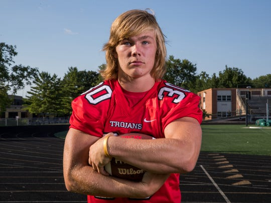 Carson Steele, running back, Center Grove High School,