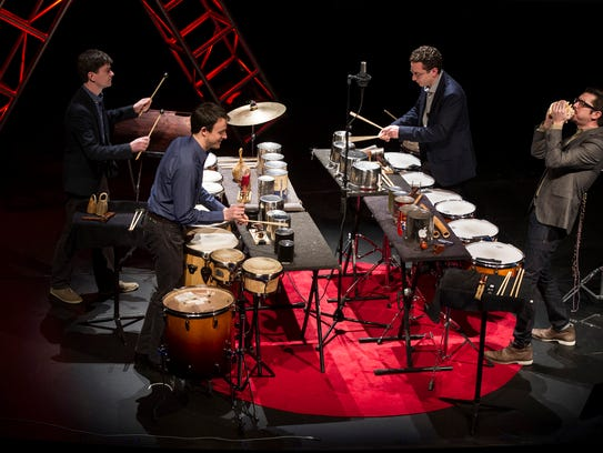 "Third Coast Percussion to perform ""Wild sound, a work"