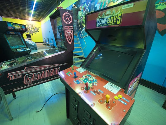 Timeline Arcade focuses on vintage video games from