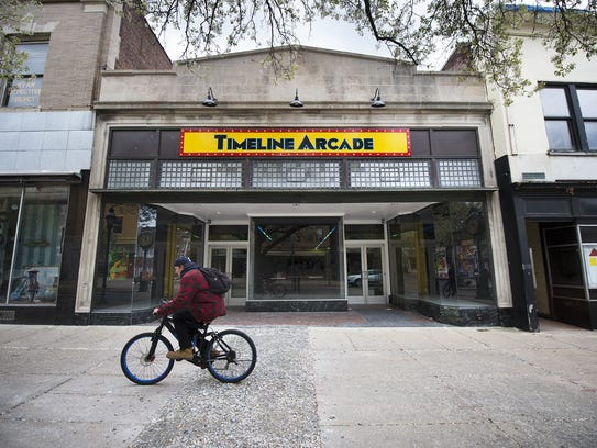Timeline Arcade is located on 54 W. Market St., York,