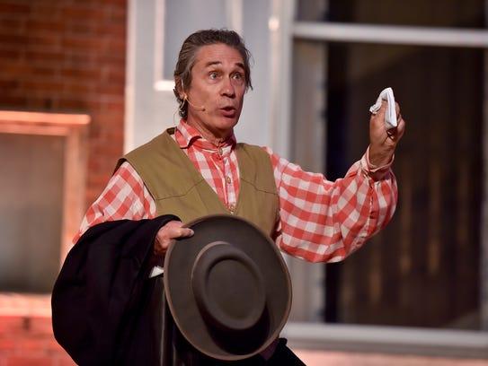Charles Rittenhouse portrays townsman Jacob Hoke during