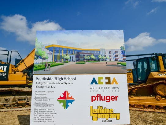 Construction begins earlier this year on the new Southside