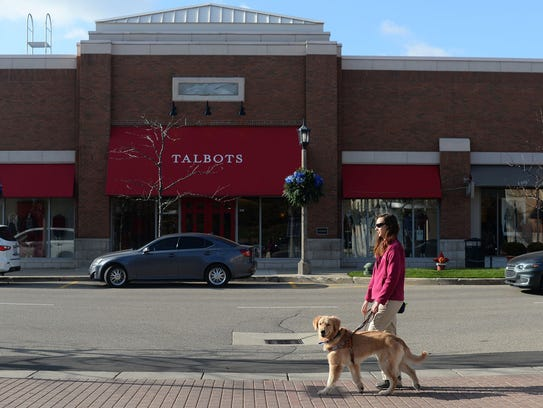 Apprentice Guide Dog Mobility Instructor Meredith Bryde,
