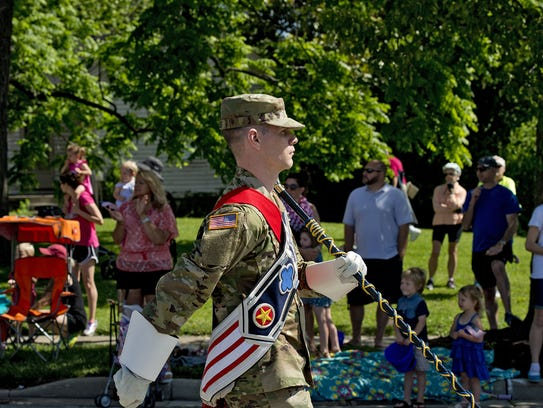 The Blue Ash Memorial Day Parade drew thousands of