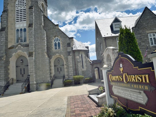 Corpus Christi Catholic Church is located at the North