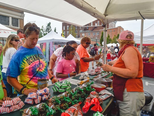 Old Market Day on Saturday, July 16, 2016 in downtown