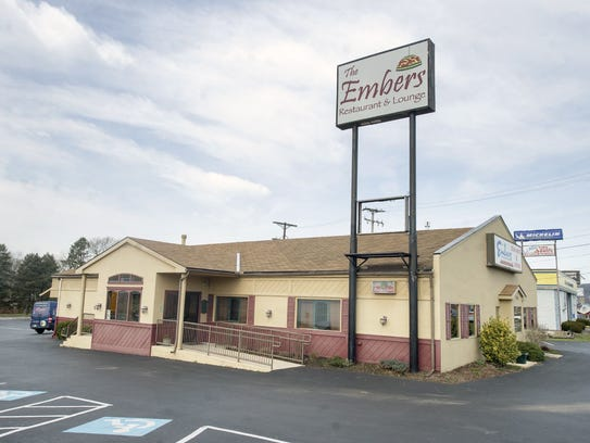 Feb. 26 -- The Embers Steakhouse in Springettsbury