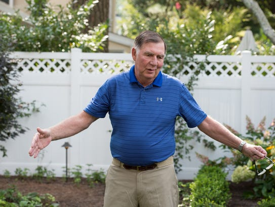 Barry Covington wanted to build a pool at his home