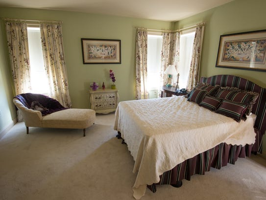 The Sudler House in Bridgeville includes original delicately