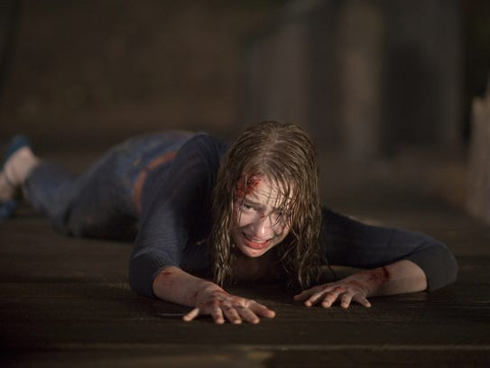 """Kristen Connolly appears in a scene from """"The Cabin"""