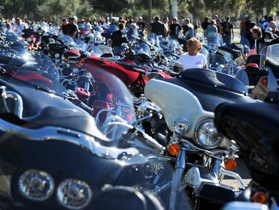 Riders participate in the 13th annual Bikers for Babies