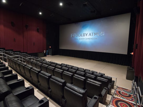 The Cube, the new Movies at Midway premium large-format theater near Rehoboth Beach, which opened last month.