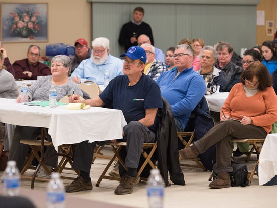 Millsboro residents meet with Mountaire Farms officials