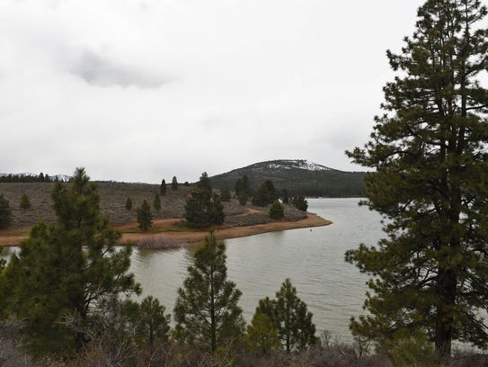 Images of the Boca Reservoir