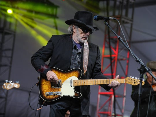 Merle Haggard performs at the Big Barrel Country Music Festival.