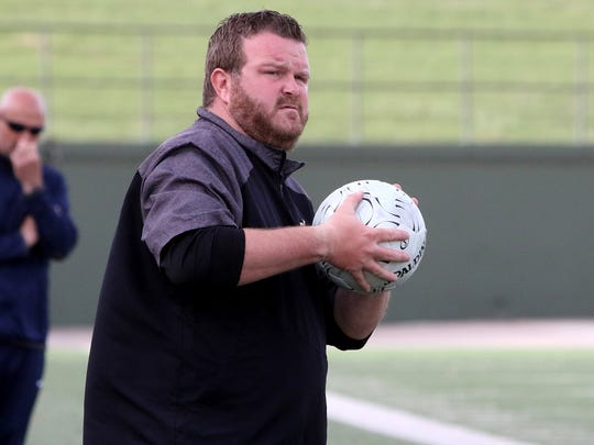 Rider boys soccer coach Dustin Holly has been suspended for the first two games of the 2020 season after the Raiders got into a fight last week against El Paso Eastlake.