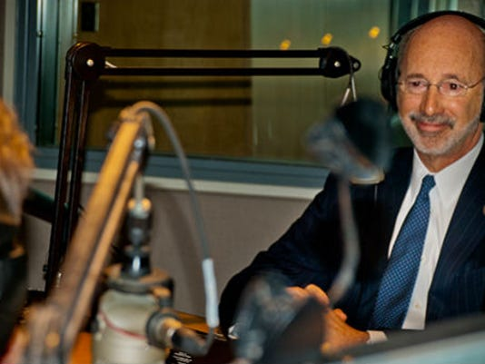 """Gov. Tom Wolf will discuss the state budget talks on WITF's """"Smart Talk"""" Wednesday morning."""