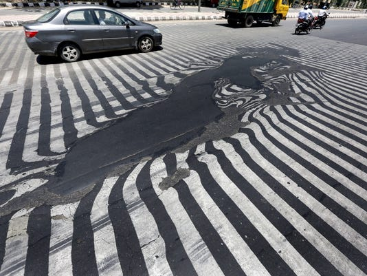 EPA INDIA WEATHER HEAT WAVE WEA WEATHER IND NE