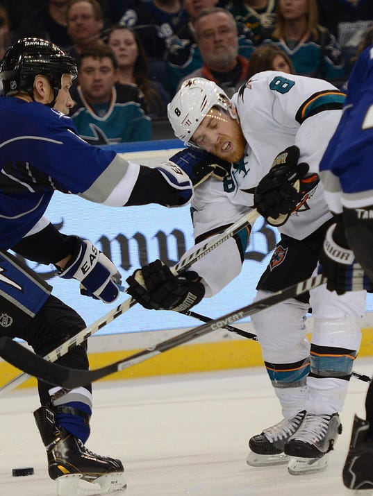 2014-01-18 Joe Pavelski Sharks