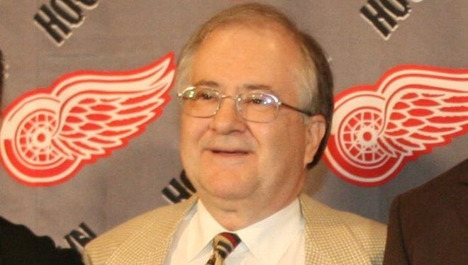 Detroit Red Wings executive Jim Devellano poses for a photo in 2006.