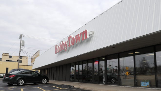 HobbyTown moved to 122 S. Memorial Drive in Appleton.