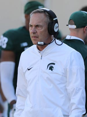 Mark Dantonio and Michigan State have won four straight one-possession Big Ten games, including the Spartans' 17-10 win over Iowa on Sept. 30.