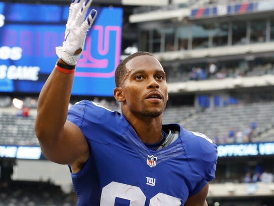 Paterson native Victor Cruz's remarkable run with the Giants ended in 2017.