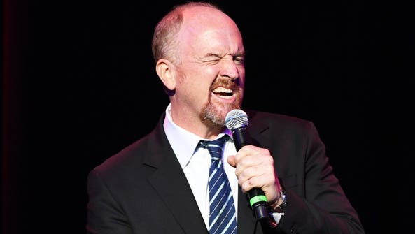 Louis CK, shown as the Stand Up For Heroes Show in